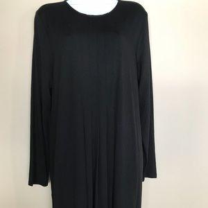 J Jill Wearable Collection Pleated waist dress